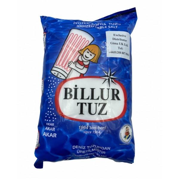 Billur Salt Produced From Sea Salt 1500g