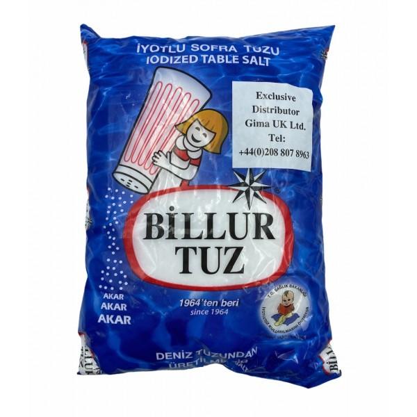 Billur Salt Produced From Sea Salt 750g