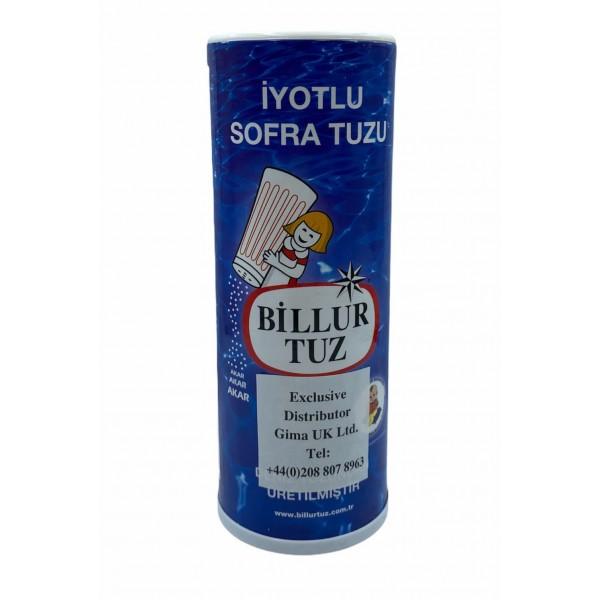 Billur Tuz Iodized Table Salt 500g