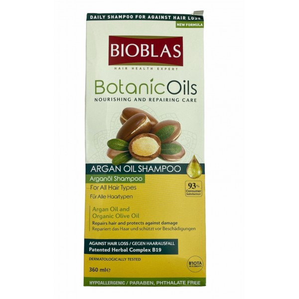 Bioblas Argan Oil Shampoo 360ml