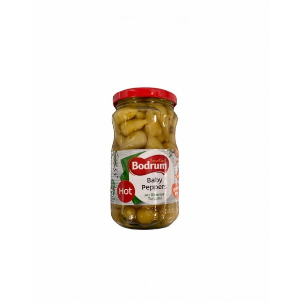 Bodrum Baby Peppers 330g