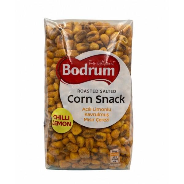 Bodrum Chilli Lemon Roasted Salted Corn Snack 400gr