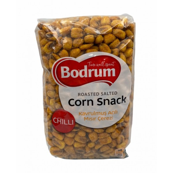 Bodrum Chilli Roasted Salted Corn Snack 400g