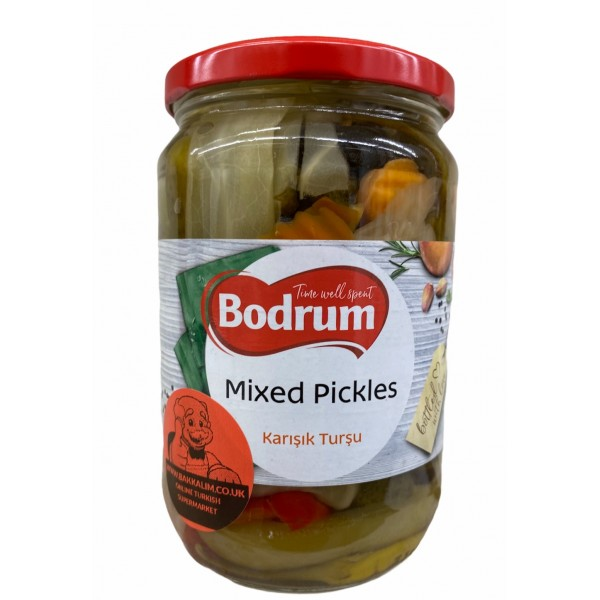 Bodrum Mixed Pickles 670g