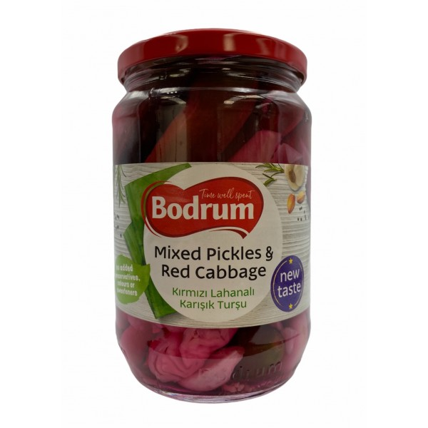 Bodrum Mixed With Red Cabbage 680g
