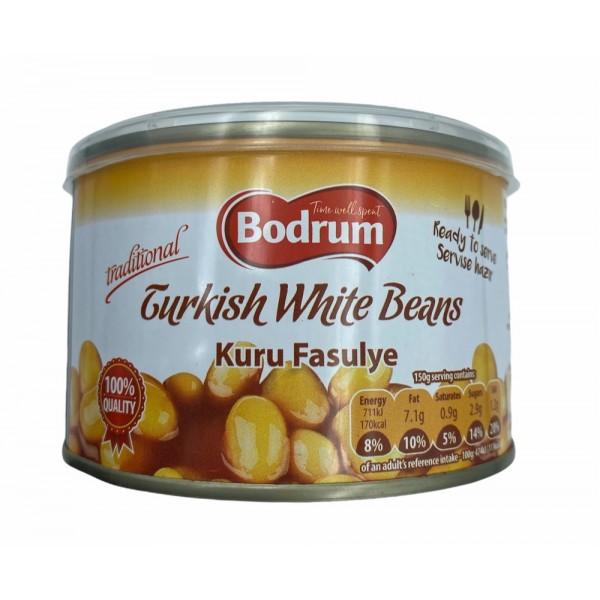 Bodrum Turkish White Beans 400g
