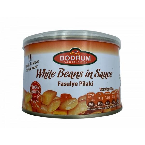 Bodrum White Beans In Sauce 400g