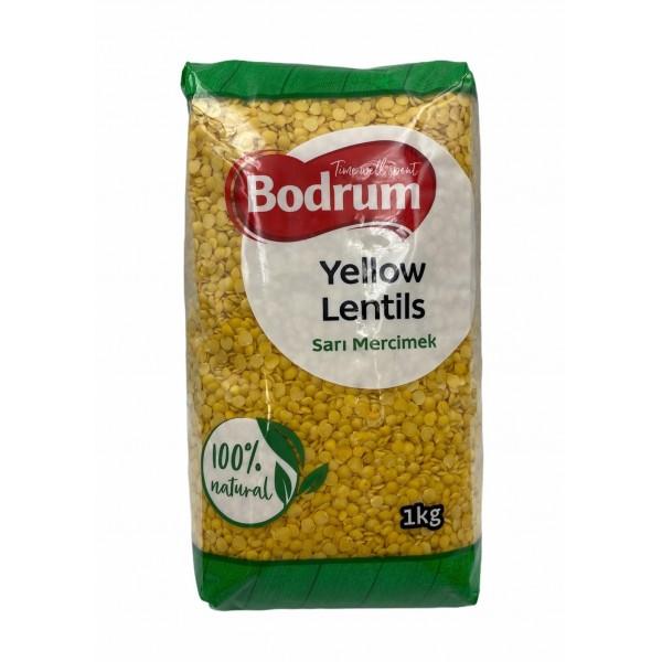 Bodrum Yellow Lentils 1kg