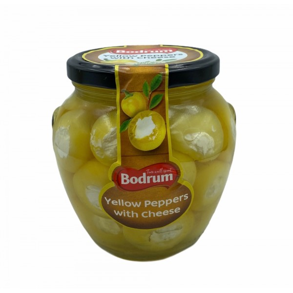 Bodrum Yellow Peppers With Cheese 520gr