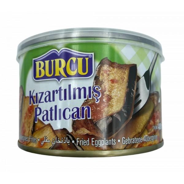 Burcu Fried Aubergine