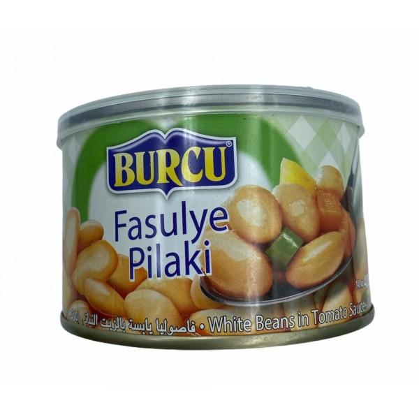 Burcu White Beans In Tomato Sauce 400g