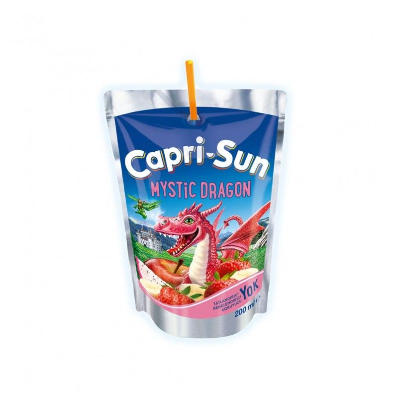 Capri Sun Mystic Dragon Fruit Juice 200ml