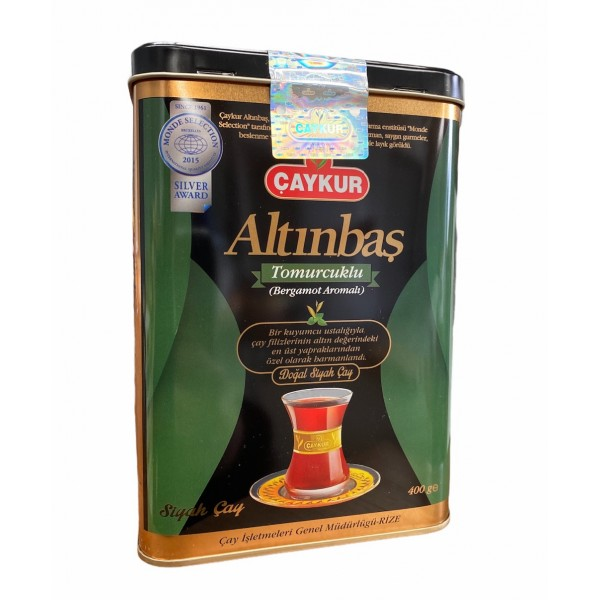 Caykur Altinbas Bergamot Flavored Tea 400gr