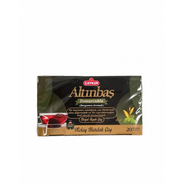 Caykur Altinbas Earl Grey Natural Black Tea 20 Teabags
