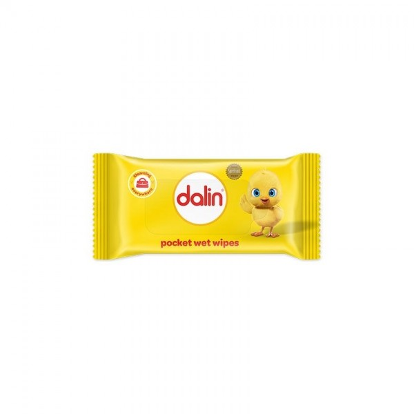 Dalin Pocket Wet Wipes 15 Wet Wipes