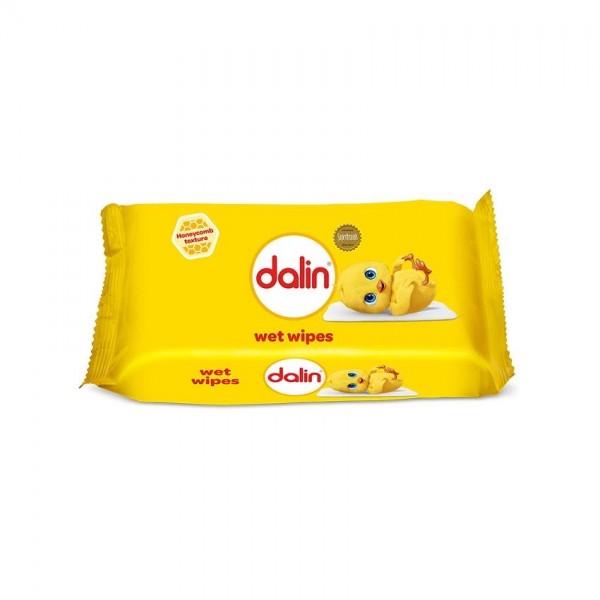 Dalin Wet Wipes Honeycomb 56 Unit