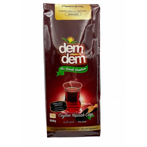 Demdem Black Tea With Bergamotte 500gr