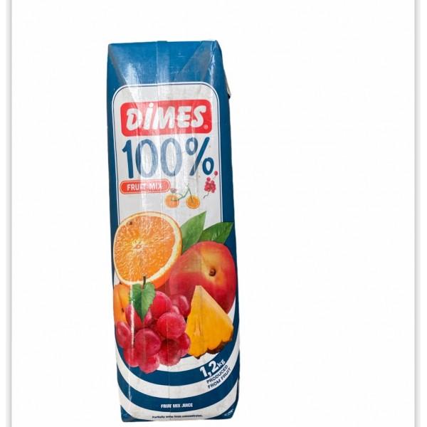 Dimes Mix Fruit Juice 100 Percent  1lt