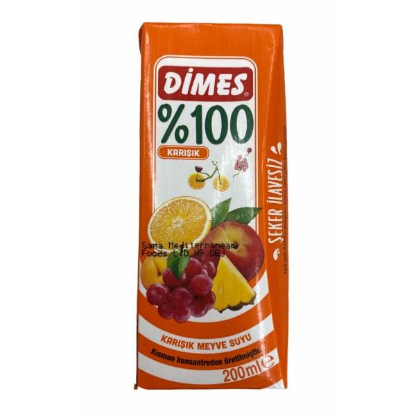 Dimes Mix Fruit Juice 200ml