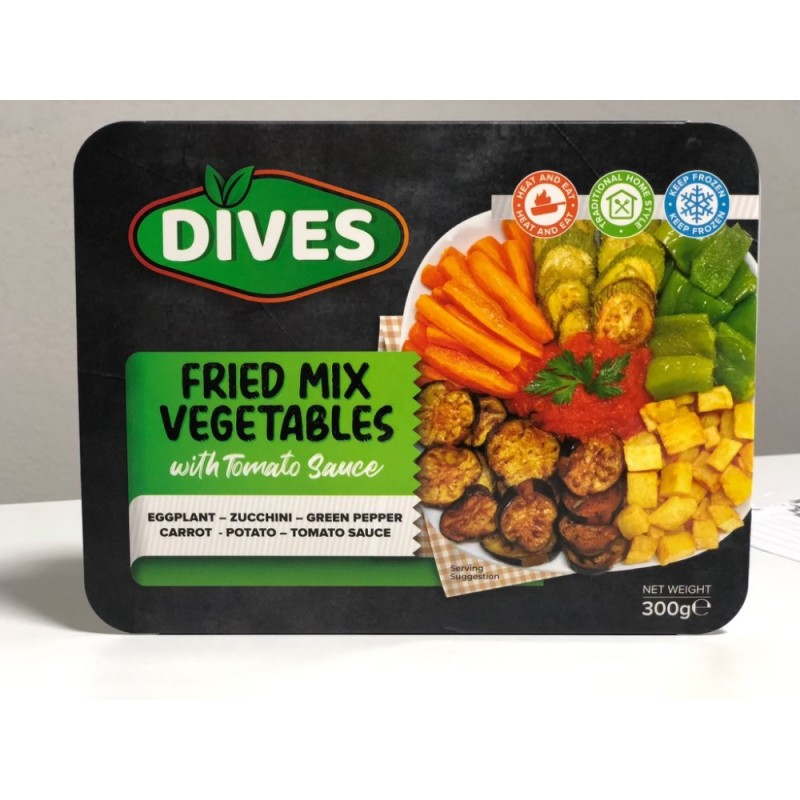 Dives Fried Mix Vegetables With Tomato Sauce 300g