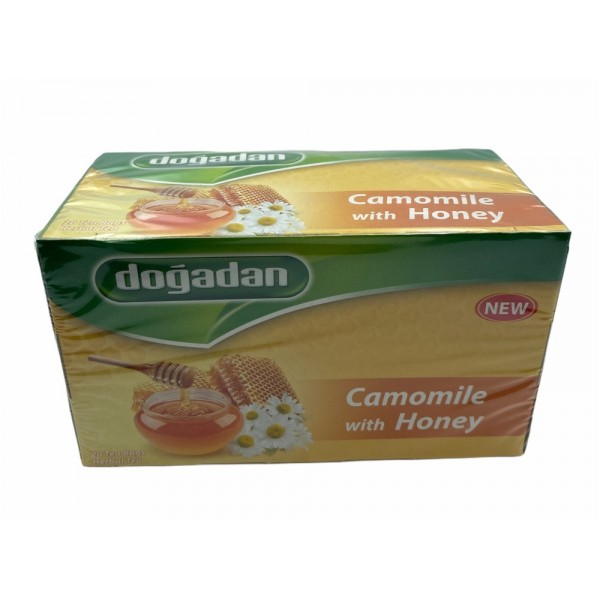 Dogadan Camomile With Honey 20 Bags