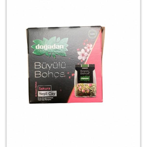 Dogadan Flavoured Green Tea 10 Bags