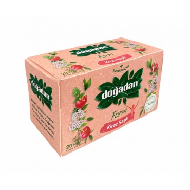Dogadan Form Mixed Herbal Tea With Cherry Stalks 20 Bags
