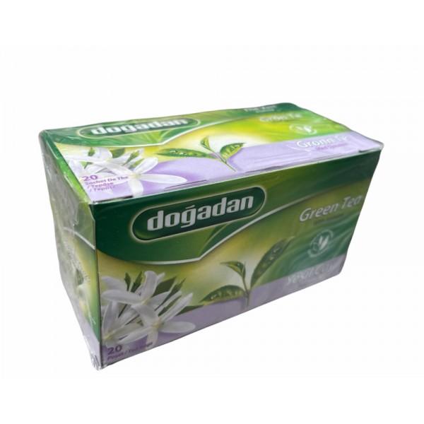 Dogadan Green Tea With Jasmine 20 Bags