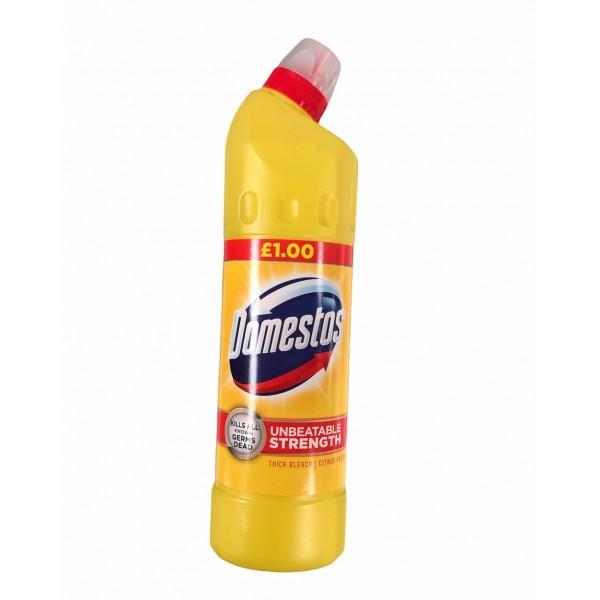 Domestos Unbeatable Strenght Thick Bleach Citrus Fresh 750ml