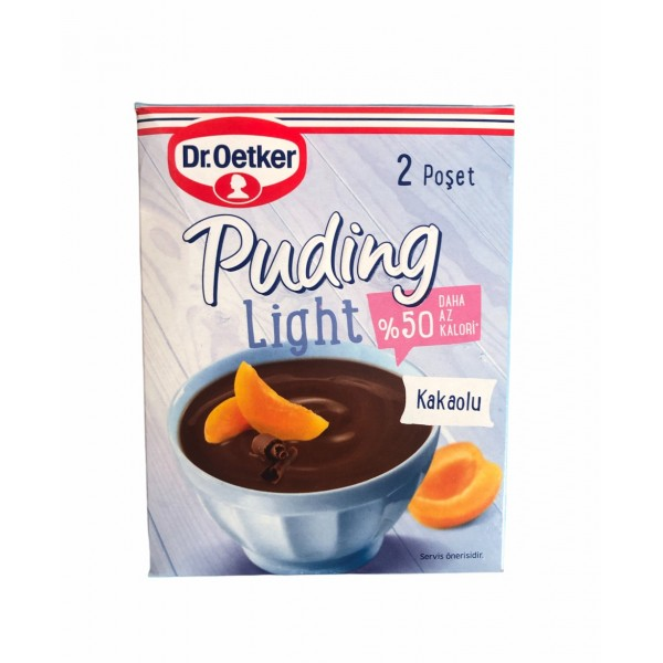 DrOetker Puding Light With Cocoa 2x35 70g