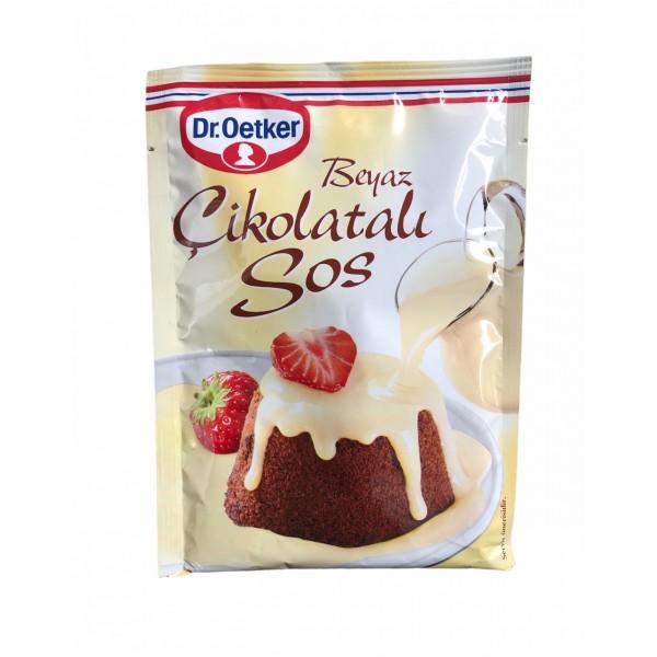 DrOetker White Chocolate Sauce 80g