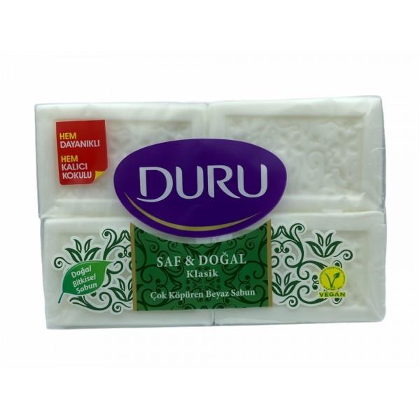 Duru Classic White Soap 4x150g