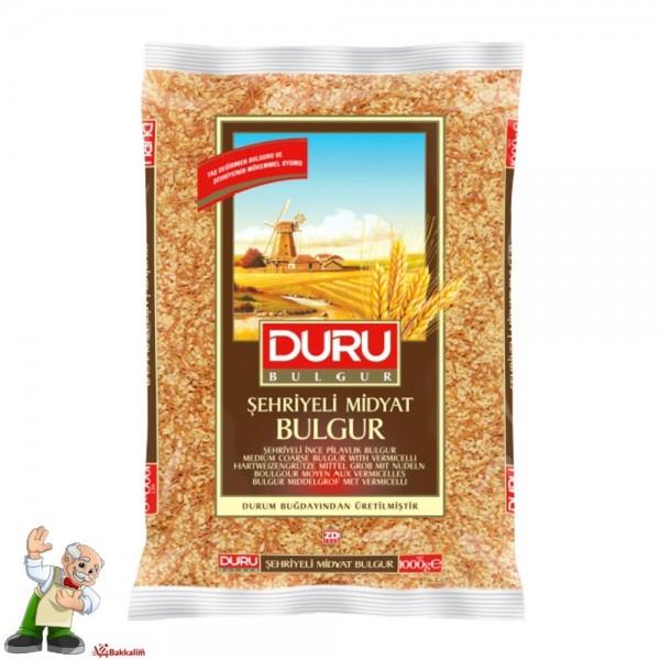 Duru Medium Coarse Bulgur With Vermicelli 1000g