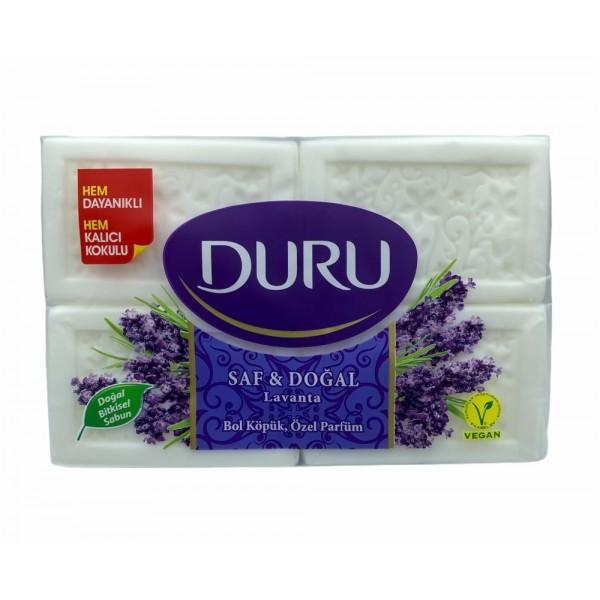 Duru Lavender Natural Herbal Soap 4x150gr