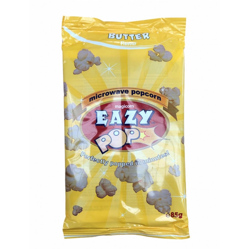 Eazy Microwave Popcorn With Butter 85g