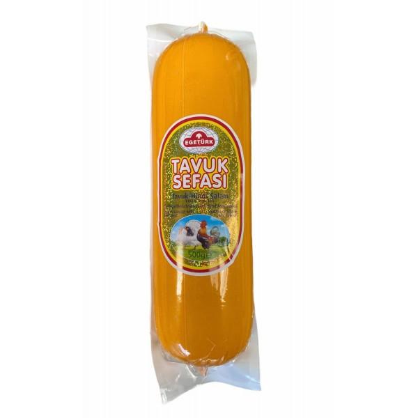 Egeturk Tavuk Sefasi Chicken-Turkey Salami 500g