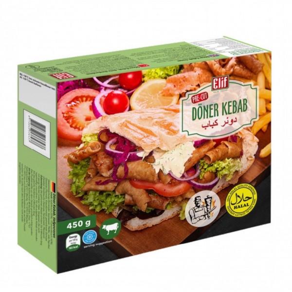 Elif Meat Doner Kebab (Halal) 450g