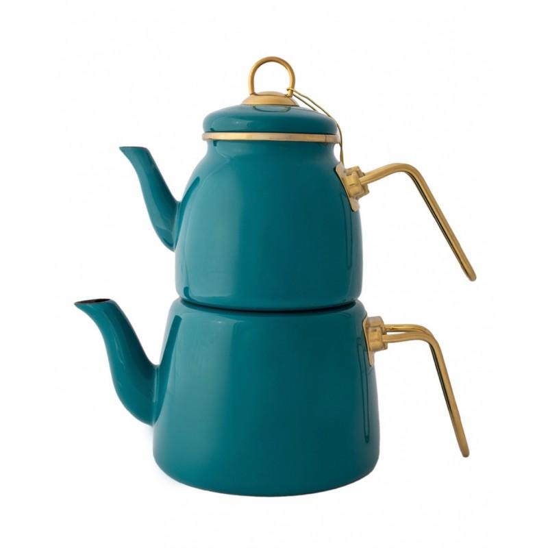 Elite Class TeaPot Set Green