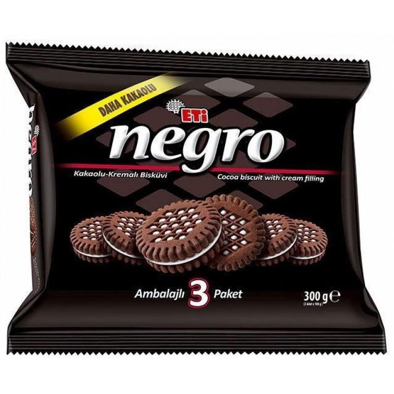 Eti Negro 3packs 330g