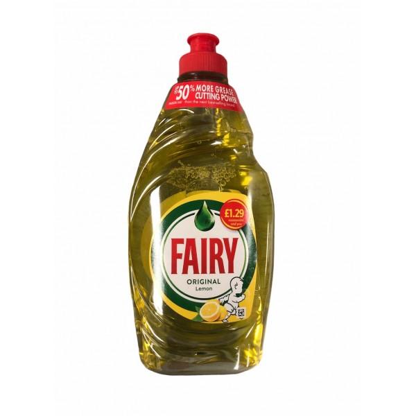 Fairy Original Deshes Detergent With Lemon 433ml