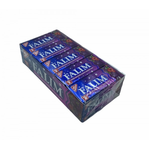 Falim Forest Fruits Aromated Sugar Free Chewing Gum 20x 5pcs