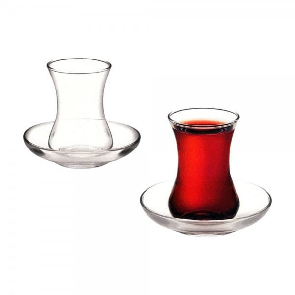 Glass4you Harran Tea Glasses Set 12pcs