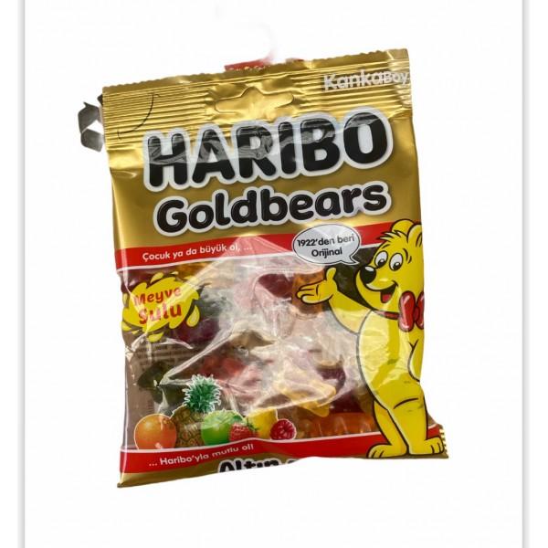 Haribo Gold Bear Fruit Mix Helal 80g