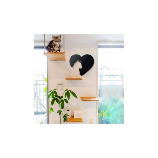 Home Decor (Cat And Heart)