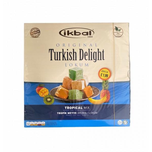 Ikbal Turkish Delight Tropical Mix 350g