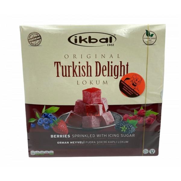 Ikbal Turkish Delight Berries Sprinkled With Icing Sugar