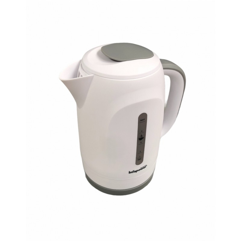 Infapower Cordless Kettle White-Grey X505