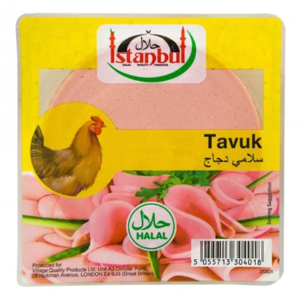 Istanbul Chicken And Turkey Sliced Salami 200g