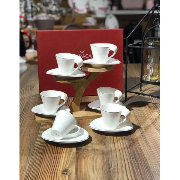 Karaca Spire Espresso Cups Set Of 6
