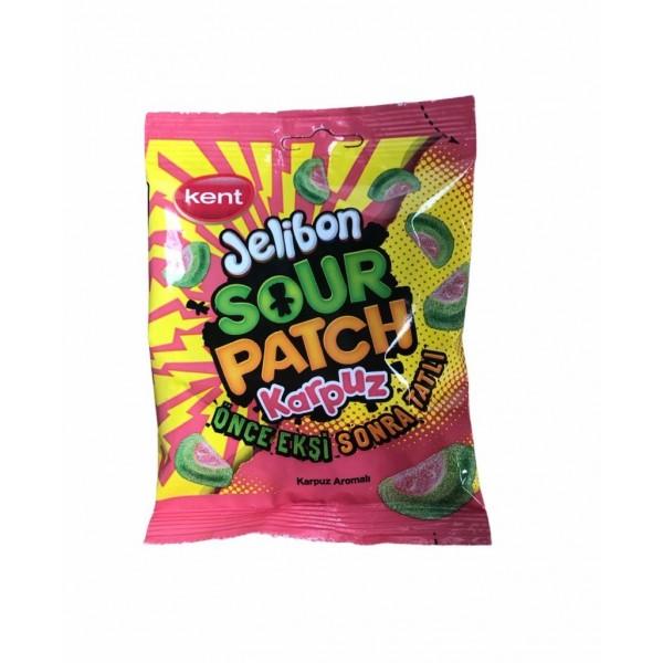 Kent Jelibon Sour Patch Watermelon Sweets Halal 80g